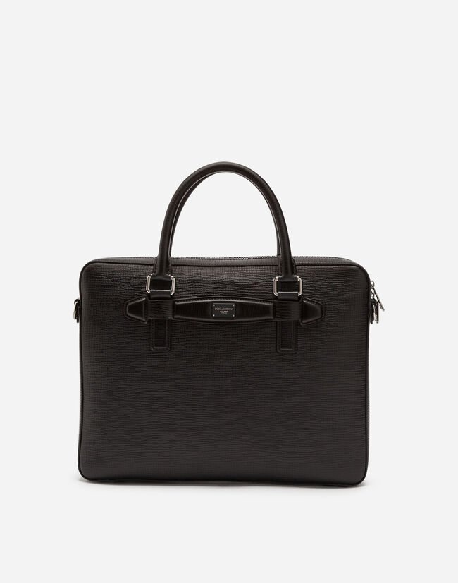 CALFSKIN LAPTOP BRIEFCASE