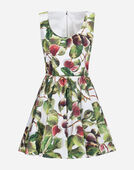 Dolce & Gabbana PRINTED POPLIN DRESS