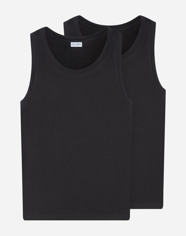 Canotta In Cotone Stretch - Underwear Uomo  b7c2d25e912