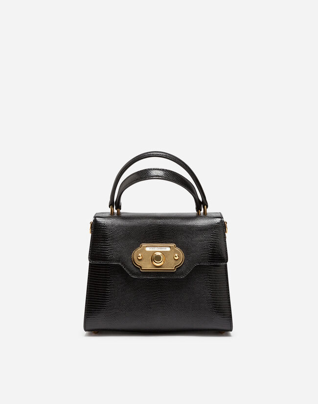 LEATHER WELCOME HANDBAG