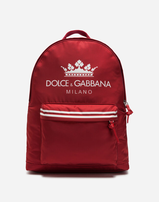 Dolce&Gabbana PRINTED NYLON BACKPACK