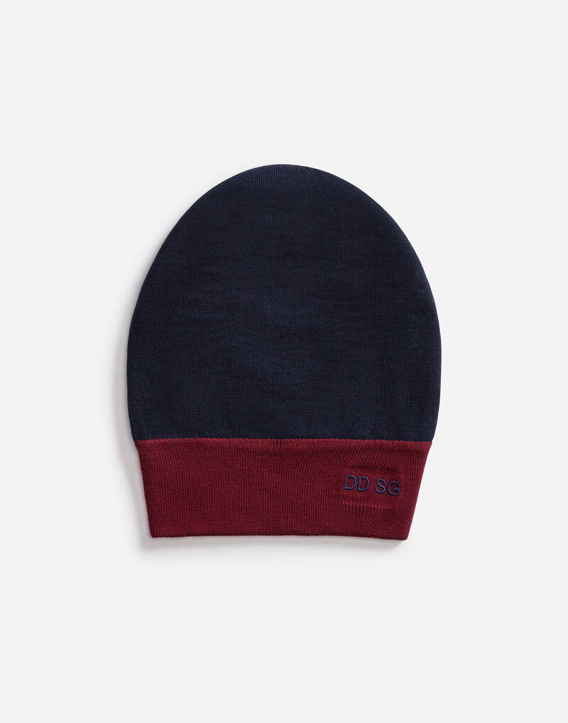 HAT IN WOOL WITH EMBROIDERY