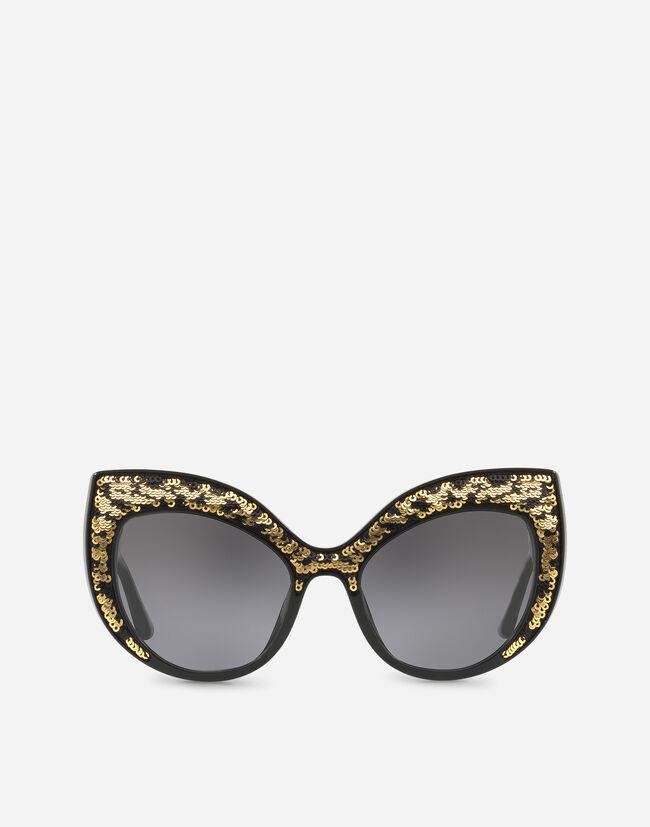 7727077668 Gafas Sol Ojos Gato Lentejuelas - Gafas de sol Mujer | Dolce&Gabbana