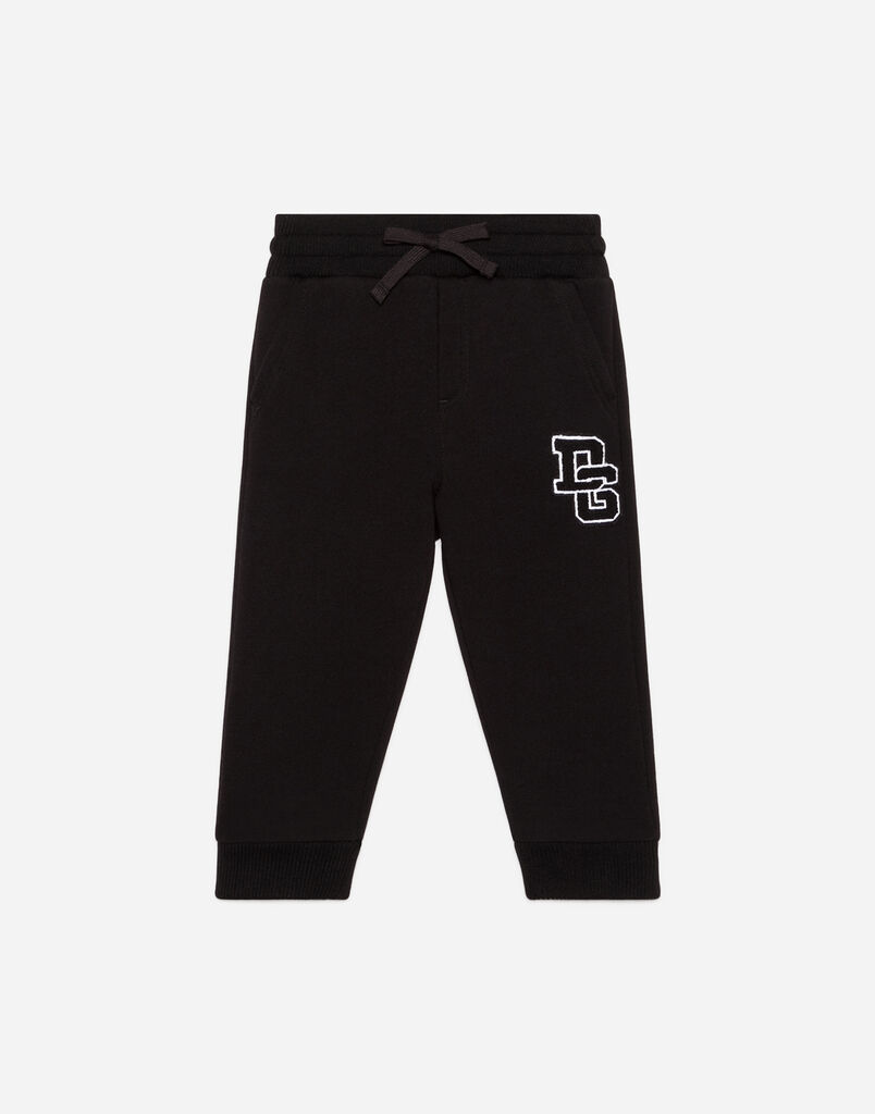 Dolce & Gabbana JOGGING PANTS IN PRINTED COTTON