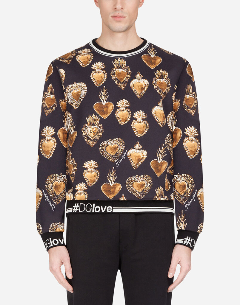 Kersttrui Metal.Sweatshirts For Men Dolce Gabbana