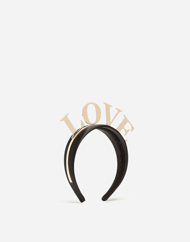 HAIRBAND WITH LOVE LETTERING