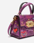 Dolce&Gabbana WELCOME HANDBAG IN CALFSKIN