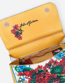 Dolce&Gabbana MEDIUM SICILY BAG  IN PRINTED DAUPHINE CALFSKIN