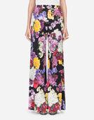 Dolce & Gabbana PRINTED VISCOSE PANTS