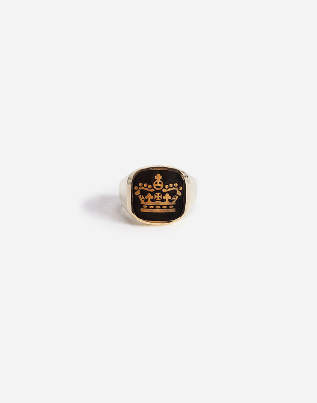 RING WITH CROWN