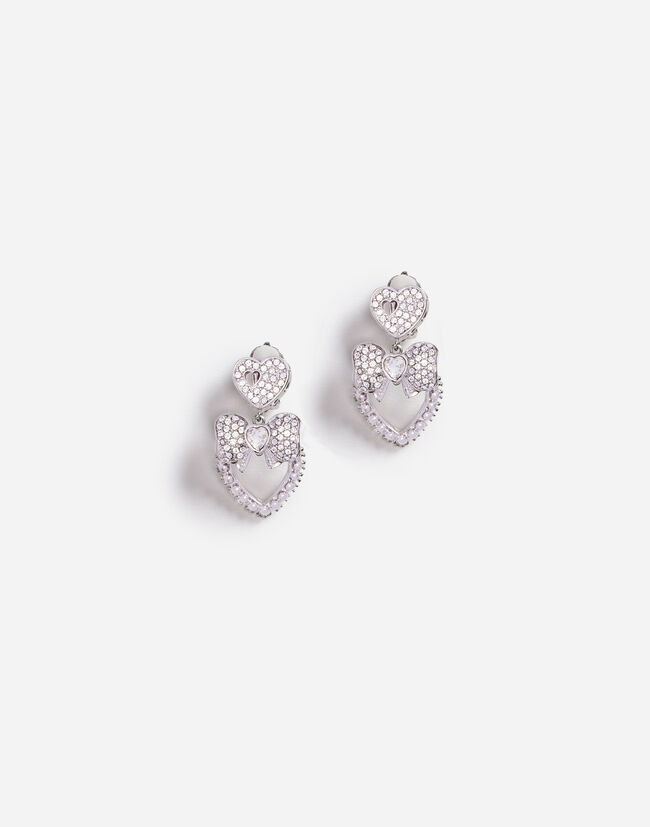 DROP EARRINGS WITH CRYSTALS