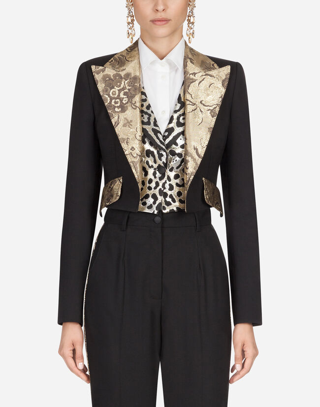 Dolce & Gabbana SINGLE-BREASTED WOOL BLAZER