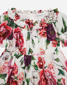 Dolce&Gabbana PRINTED COTTON DRESS