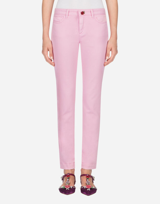 PRETTY-FIT JEANS IN STRETCH COTTON