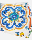 Dolce & Gabbana PRINTED BIKINI WITH BALCONETTE BIKINI TOP