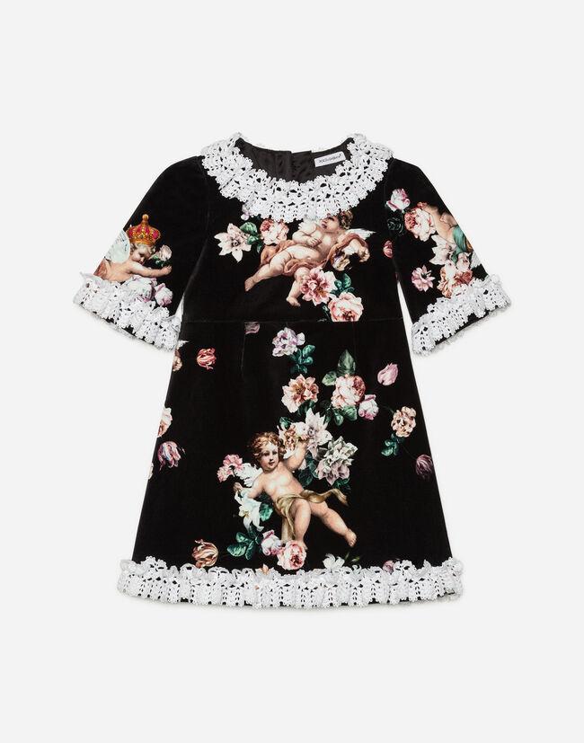 Dolce&Gabbana VELVET A-LINE DRESS