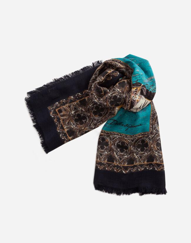 Key Accessories for Him   Dolce Gabbana - FOULARD DE CACHEMIRA Y ... 7e627b2c0c4