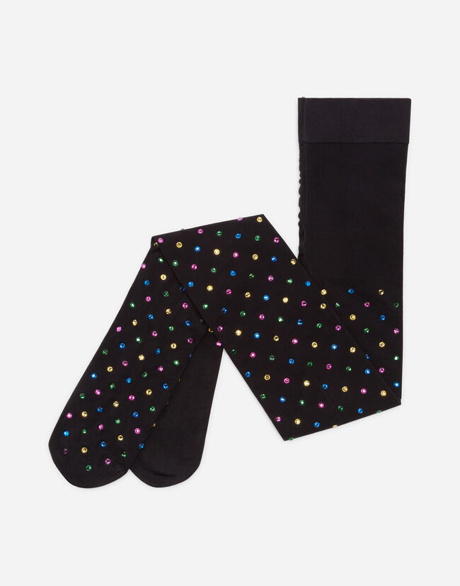 TIGHTS WITH RHINESTONES
