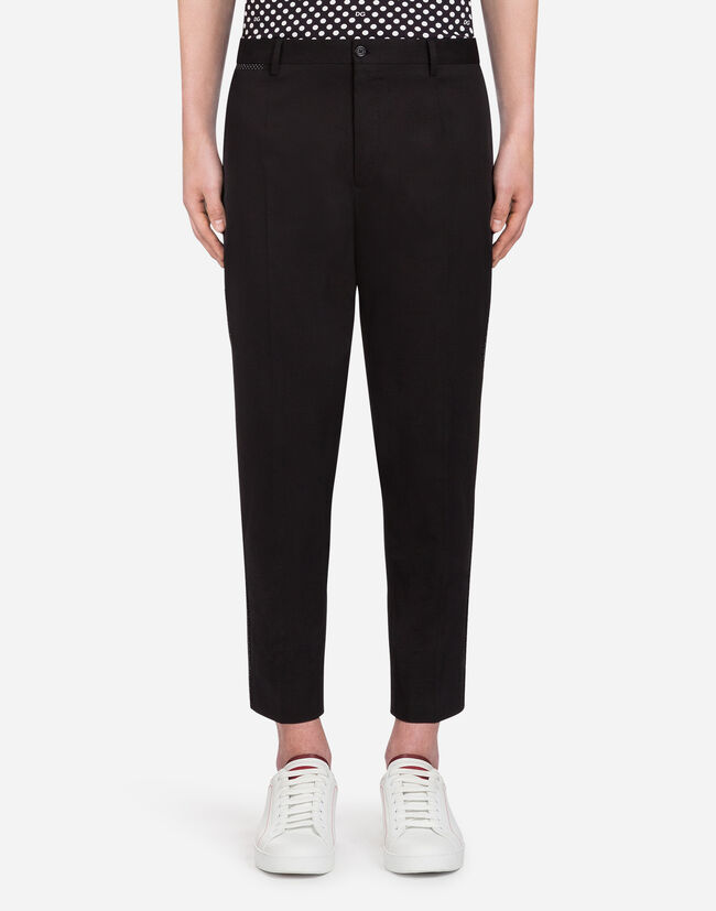 Dolce&Gabbana STRETCH COTTON PANTS