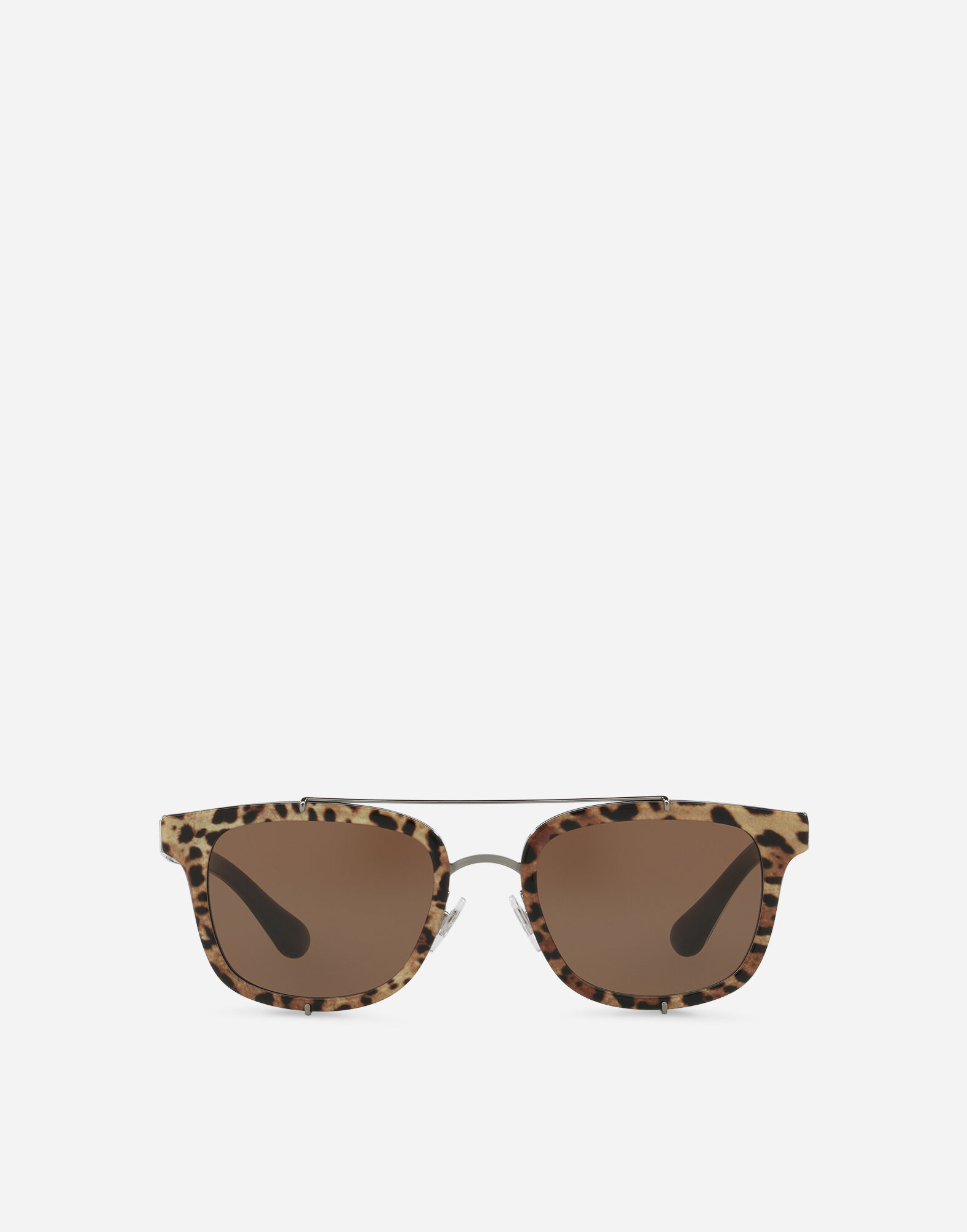 Sonnenbrille aus Acetat mit Doppelsteg 08ZY6FnX1j