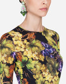 Dolce & Gabbana PRINTED SILK TOP