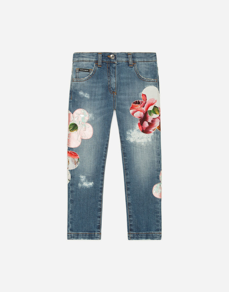 Dolce&Gabbana JEANS WITH EMBROIDERY