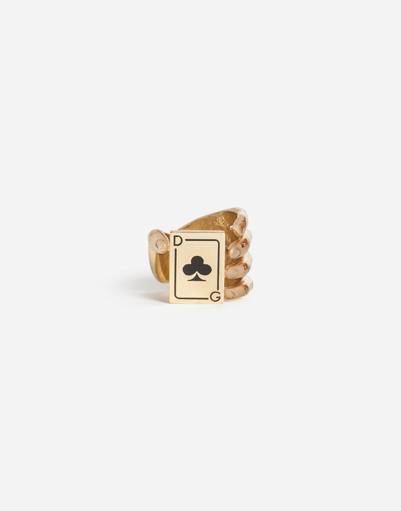 RING WITH FLOWER