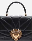LARGE DEVOTION BAG IN QUILTED LEATHER