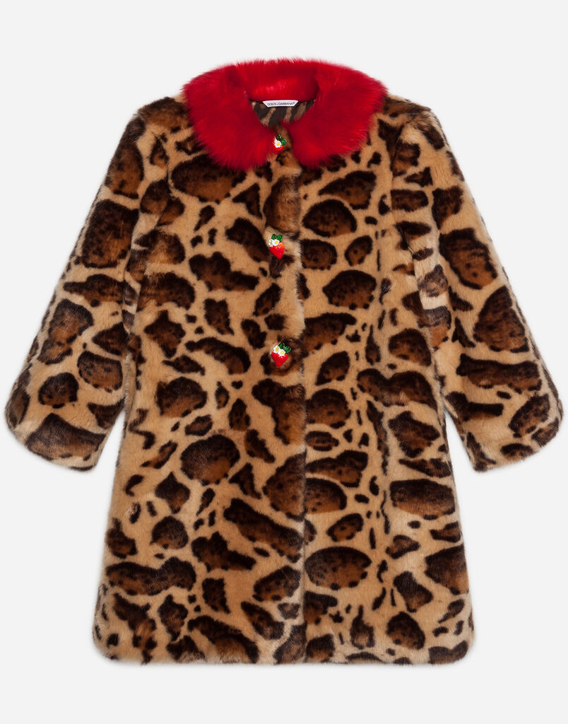 Dolce&Gabbana FAUX FUR COAT
