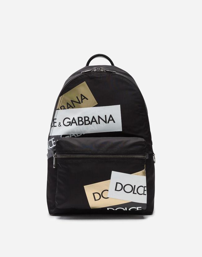01608da81d99b4 Zaino Vulcano In Nylon Stampato - Zaini Uomo | Dolce&Gabbana