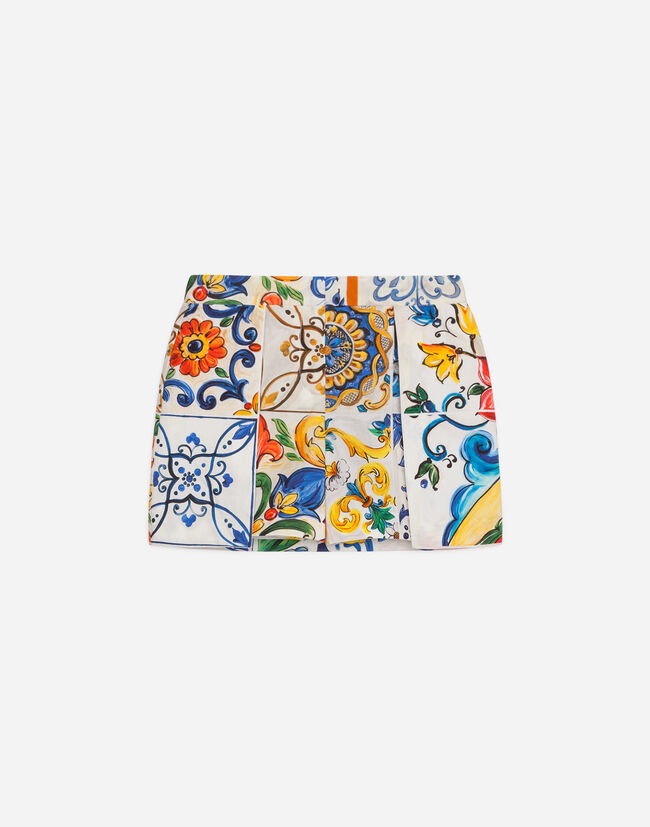 Dolce&Gabbana PRINTED COTTON SHORTS