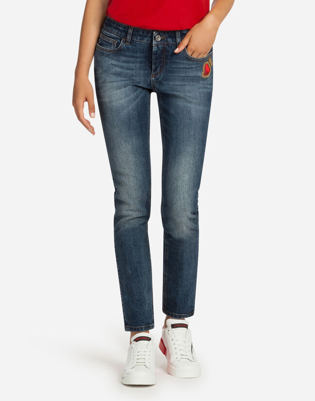 Dolce & Gabbana PRETTY FIT JEANS IN STRETCH DENIM