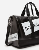 Dolce&Gabbana COATED CANVAS TRAVEL BAG