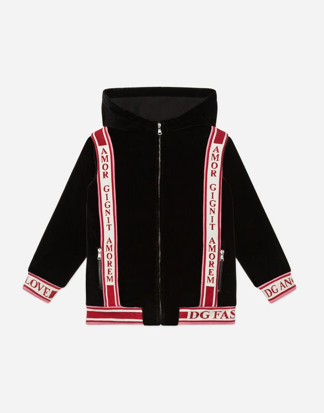Dolce & Gabbana JACKET WITH HOOD
