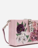 DOLCE BOX CLUTCH IN PRINTED LACQUERED WOOD