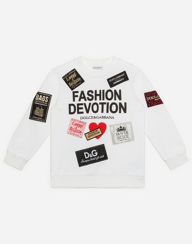 Dolce&Gabbana COTTON SWEATSHIRT