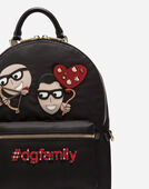 Dolce&Gabbana VULCANO BACKPACK WITH DESIGNERS' PATCHES