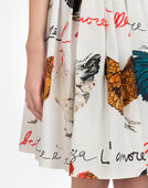 Dolce & Gabbana PRINTED COTTON SKIRT