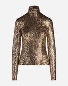 Dolce & Gabbana SEQUIN TOP