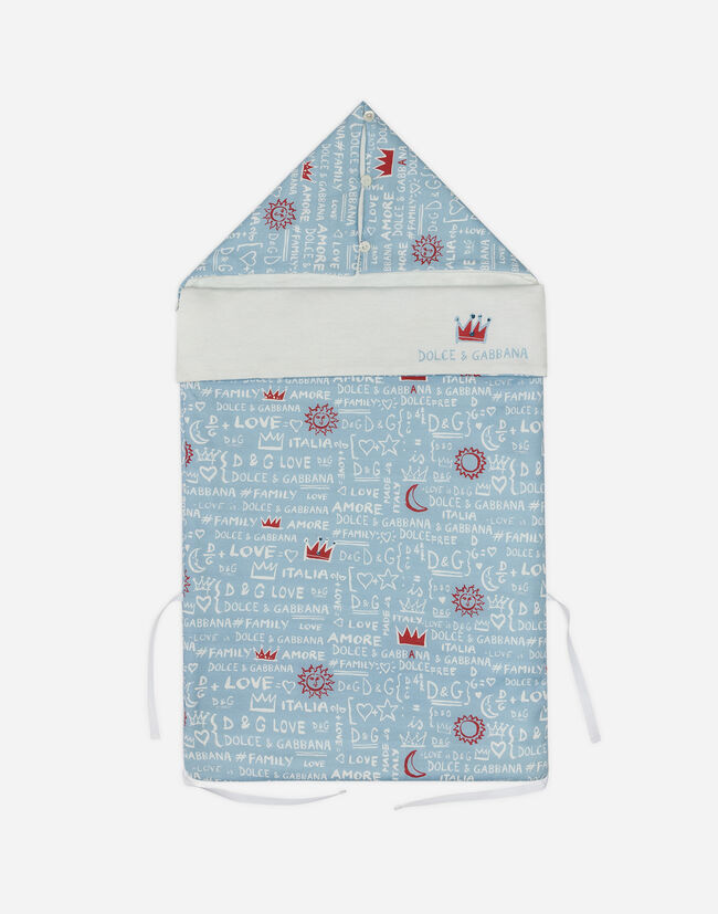 PRINTED COTTON SLEEPING BAG
