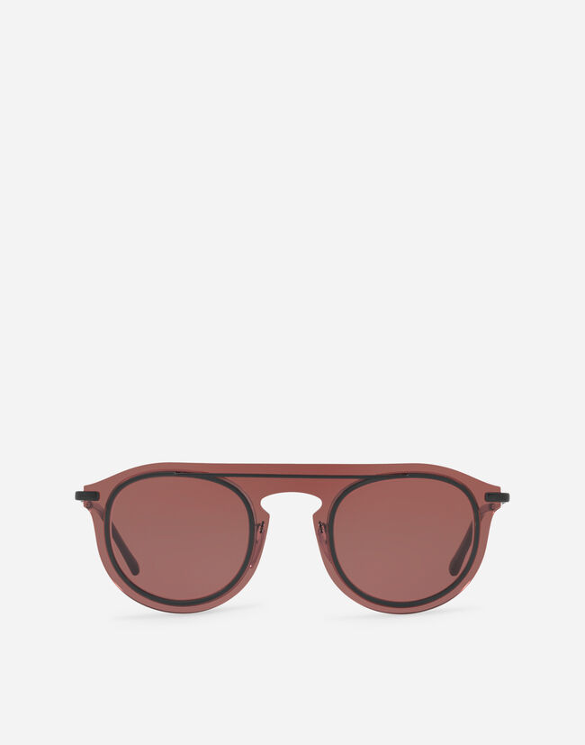 Dolce & Gabbana PANTHOS SUNGLASSES IN METAL AND ACETATE