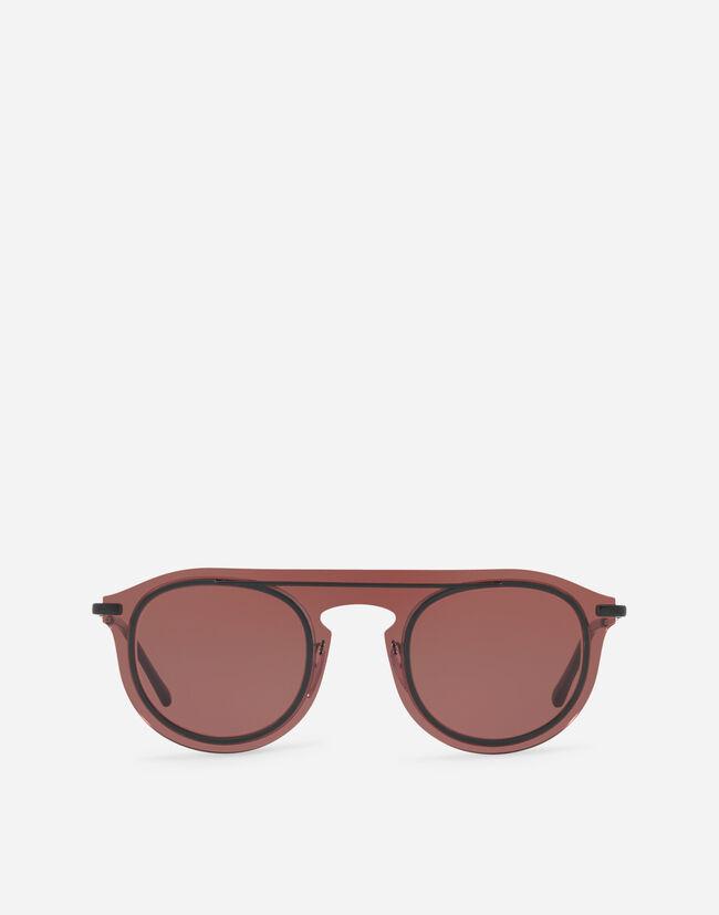 Panthos Sunglasses In Metal And Acetate - Men   Dolce Gabbana ea2a7c656f45