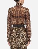 Dolce&Gabbana PRINTED CHIFFON SHIRT