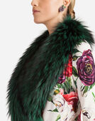 Dolce&Gabbana COAT WITH FUR COLLAR