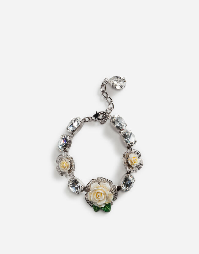 Dolce&Gabbana BRACELET WITH ROSES