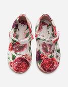 Dolce&Gabbana PRINTED BROCADE BALLET FLATS