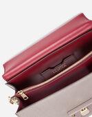 Dolce&Gabbana LEATHER LUCIA SHOULDER BAG