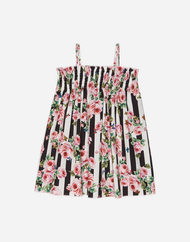 SUN DRESS IN PRINTED COTTON