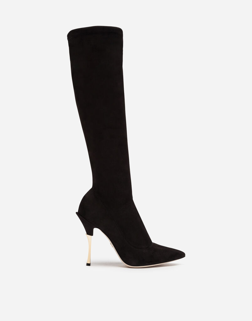 Dolce & Gabbana STRETCH SUEDE BOOTS