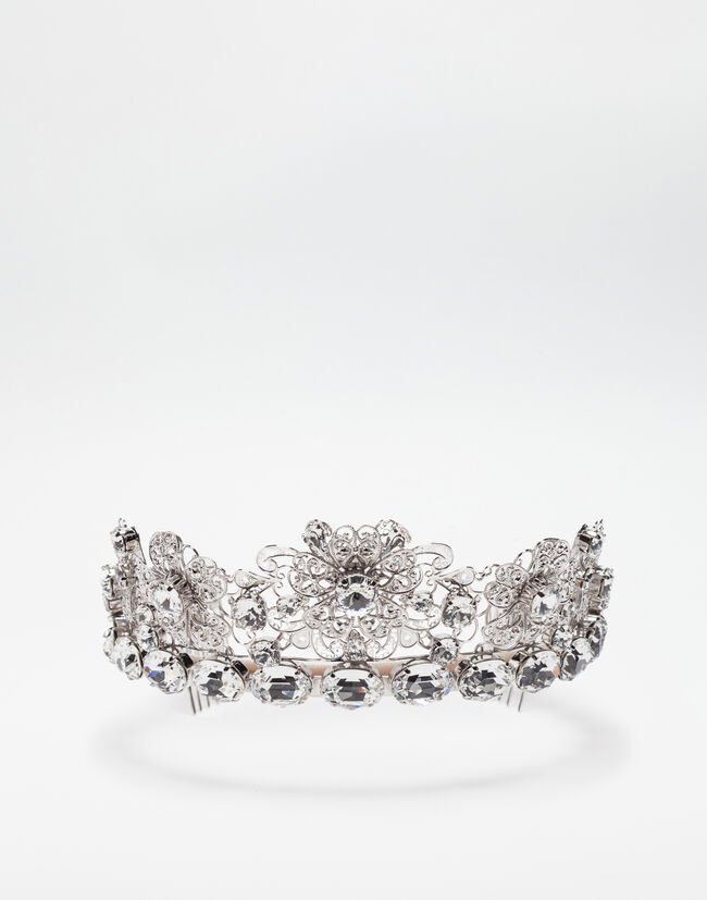 331376fd9031 Metal Crown With Crystals - Women